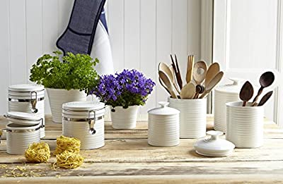Sophie Conran For Portmeirion Lidded Store Jar, White, Medium from Portmeirion