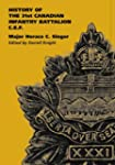 History of the 31st Canadian Infantry...