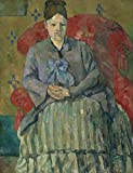 The Museum Outlet - Portrait of Madame Cezanne in the Red Armchair, 1877 - Canvas (Medium)