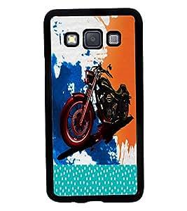 Fuson 2D Printed Bike Designer back case cover for Samsung Galaxy A3 A300F - D4485