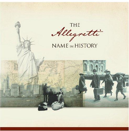 The Allegretti Name in History