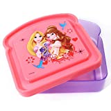 Disney Princess Girls Lunch Storage Fresh Sandwich Container