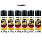 Holts Easystart 6 Can Spray Car Boat Petrol Easy Start BES1A