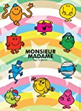 Nathan 87175 Jigsaw Puzzle 500 Pieces 'Monsieur Madame' (Mr Men and Little Miss)