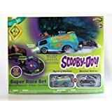 NKOK Box Of Glow In The Dark RC Scooby Doo Race Set