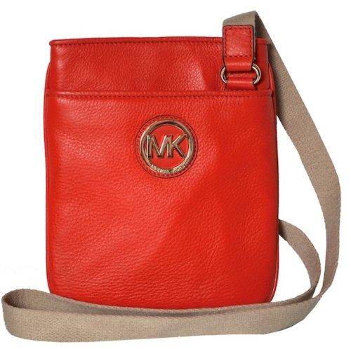 MICHAEL Michael KorsWomen's Michael Kors Fulton Leather Crossbody Mandarin