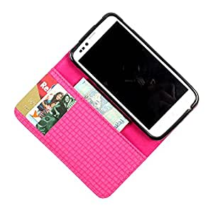 i-KitPit PU Leather Wallet Flip Case Cover For Samsung Galaxy Grand Duos / Grand Neo (Pink)