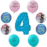 Disney Frozen Happy 4th Birthday Party Balloon Decoration Kit
