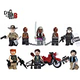 LEGO Spezial The Walking Dead 3er-Megapack - Rick, Daryl, Glenn, Michonne, Governor, Abraham.