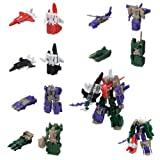 Mini Transformers Combiners Kabaya Gum Gaia Complete Set Action Figures Firebolt Skydive Air Raid Dead End Drag Strip Vortex Brawl
