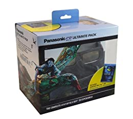 Panasonic TY-EW3D2MMK2 Ultimate 3D Starter Kit Avatar 3D 2 Rechargeable Glasses