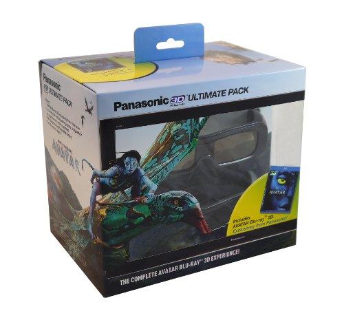 Panasonic TY-EW3D2MMK2 Ultimate 3D Starter Kit (Avatar 3D + 2 Rechargeable Glasses)