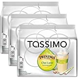Bosch Tassimo 'Twinings Chai Latte Lemongrass Tea' T Disc Coffee Machine Capsules (3 Packs of 8 Servings)