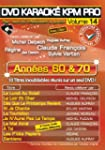 "DVD Karaok� KPM Pro Vol.14 """"Ann�es 6..."