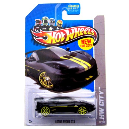 Lotus Evora GT4 '13 Hot Wheels 10/250 (Black) Vehicle - 1