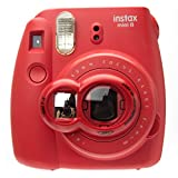 Nodartisan Close-Up Lens with Self-Portrait Mirror for Fujifilm Instax Mini 8/ 8+/ 7s (Raspberry)