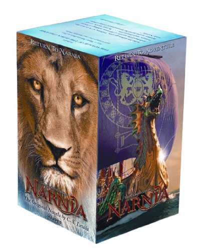 Chronicles of Narnia Movie Tie-in Box Set (Featuring The Voyage of the Dawn Treader) ISBN-13 9780061992889