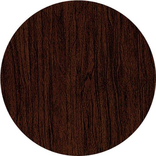 Werzalit / hochwertige Tischplatte / Nussbaum italienisch / runde Form 70 cm / Bistrotisch / Bistrotische / Gartentisch / Gastronomie günstig