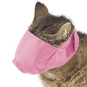 Guardian Gear Nylon Fashion Cat Fashion Muzzle, 6-12-Pound, Pink