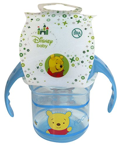 Disney Winnie the Pooh Blue Sippy Cup with Handles, 1 Count - 1