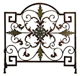 Beautiful Metal Fireplace Screen