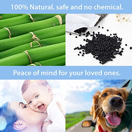 Air Purifying Bag Natural Odor Remover Freshener Bamboo