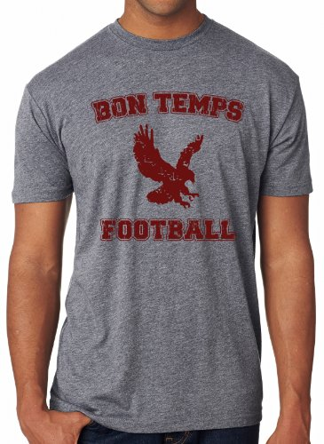 Sale alerts for Crazy Dog Tshirts Bon Temps Football T Shirt Cool Vintage Foot Ball Shirt M - Covvet