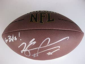 Kyle Williams, Buffalo Bills, LSU Tigers, Signed, Autographed, Nfl Football, a Coa... by Wilson