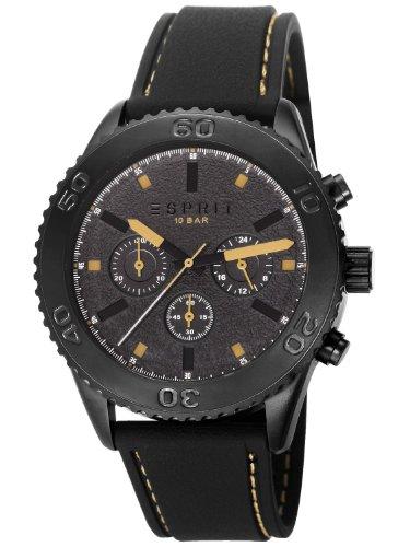Esprit ES106871002 Marin Rider Black Beige Mens Watch