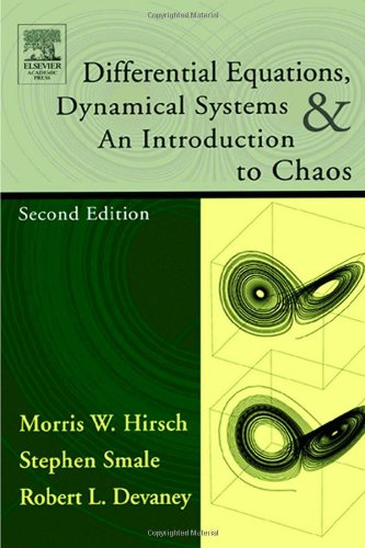 Differential Equations, Dynamical Systems, and an Introduction to Chaos, Second Edition (Pure and Applied Mathematics)