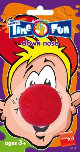 Red Sponge Soft Clown Nose