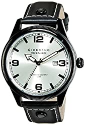 Giordano Analog White Dial Mens Watch - P170-04