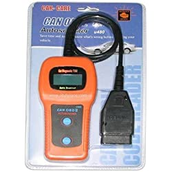 Donop Professional U480 CAN OBD2 OBD II Car Diagnostic Scanner Engine Code Reader Tool