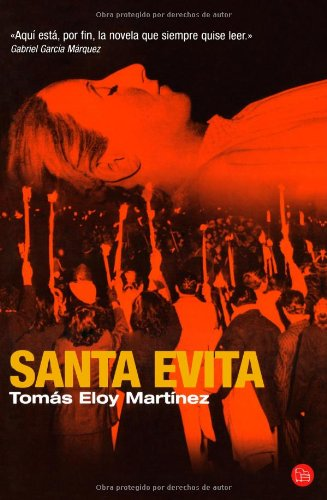 Santa Evita/ Saint Evita (Narrativa (Punto de Lectura))...