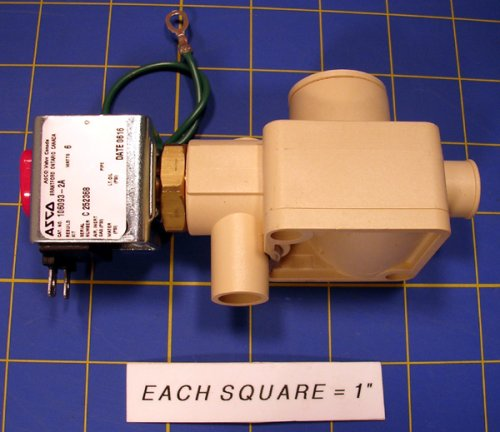 Image of 145-6000 Drain Valve Assembly W/ 24V Coil (B000I0PNY0)