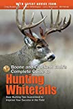 img - for Boone and Crockett Club's Complete Guide to Hunting Whitetails: Deer Hunting Tips Guaranteed to Improve Your Success in the Field book / textbook / text book