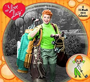 I Love Lucy 2014 Wall Calendar from Mead