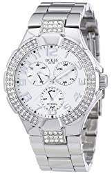 Guess Analog Silver Dial WomensWatch - I14503L1
