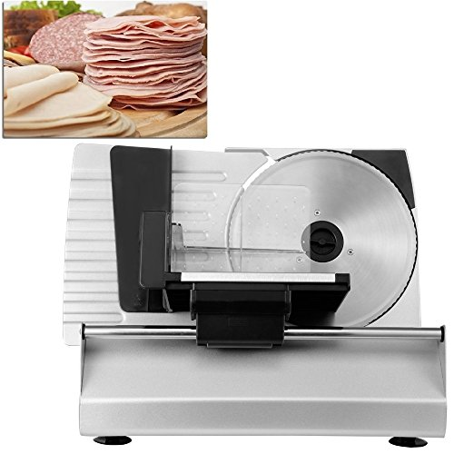 Ainfox 0-22mm Thickness Fast and Sharp Detachable Sharp Blade Versatile Metal Food Slicer,8.7