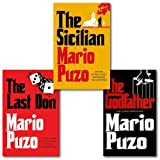 Mario Puzo The Godfather Collection 3 Books Set, (The Last Don, The Sicilian and The Godfather) Mario Puzo