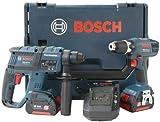 Bosch GBH + GSR 18 V-LI Werzeugset L-BOXX, 2x Akku