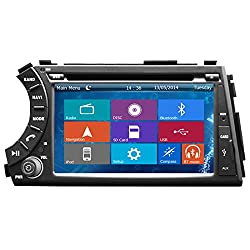 See Crusade Car DVD Player for Ssangyong Actyon Sport/ Kyron 2005-2012 Support 3g,1080p,iphone 6s/5s,external Mic,usb/sd/gps/fm/am Radio 7 Inch Hd Touch Screen Stereo Navigation System+ Reverse Car Rear Camara + Free Map Details