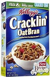 Kellogg\'s Cracklin\' Oat Bran Cereal - 17 oz