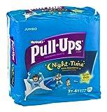 Huggies Pull-Ups Night Time Training Pants Disney Glow In The Dark 3T-4T 20 CT (Pack of 8)