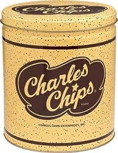 Charles Chips Original Potato Chips 1 Pound Tin