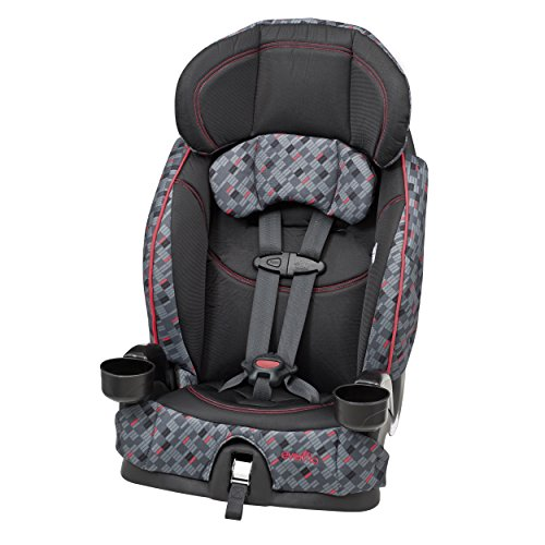 Big Save! Evenflo Chase Select Harnessed Booster Car Seat, Dunagan