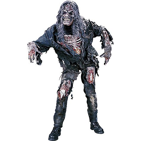 Fun World Costumes Men's Complete 3D Zombie-Adult