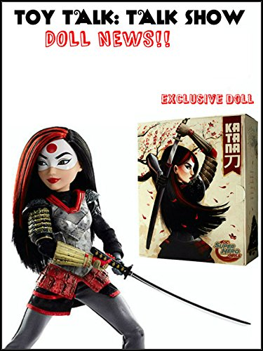 DC Super Hero Girls Katana Doll for San Diego Comic Con 2016