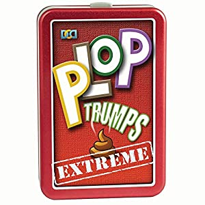 Cheatwell Games Plop Trumps Extreme 8036772