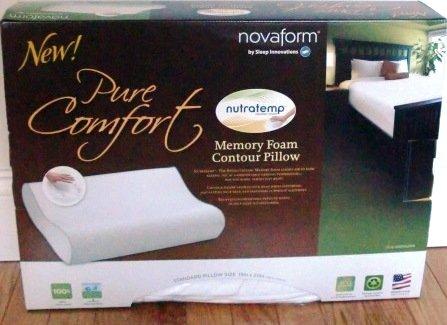 Sleep Innovations Novaform Nutratemp Memory Foam